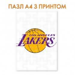 Puzzle Lakers logo