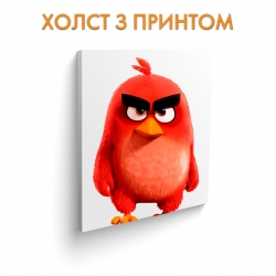 Холст Angry Birds Red Bird