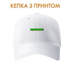 Кепка Minecraft Green Logo