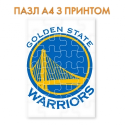 Golden State Warriors logo puzzle