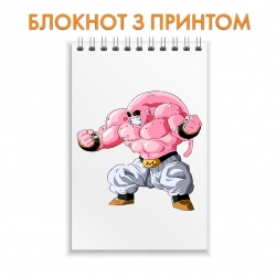 Блокнот Dragon ball Pink Monster Hero