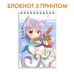 Блокнот Kantai Collection Cute Neko