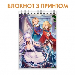 Блокнот Azur Lane Hero Print 0021