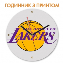 Часы Lakers logo