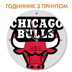 Часы Chicago Bulls logo