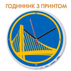 Часы Golden State Warriors logo