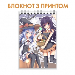 Блокнот Kantai Collection Little Witches