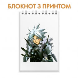 Блокнот D.Gray-man Main Hero