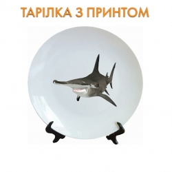 Тарелок Shark with funny nose