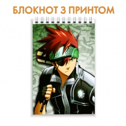 Блокнот D.Gray-man Lavi Bookman