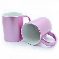 Pink mother-of-pearl cup