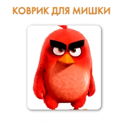 Килимок Angry Birds Red Bird