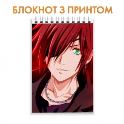 Блокнот D.Gray-man Lavi Bookman Hero