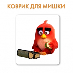 Килимок Angry Birds Red Bird With Sandwich
