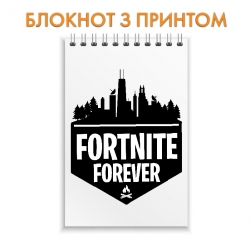 Блокнот Fortnite Forever Logo