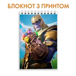 Блокнот Fortnite Thanos