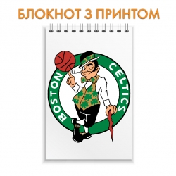 Блокнот Boston Celtics