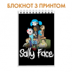 Блокнот Sally Face Theme
