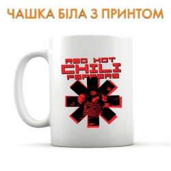 Чашка Red Hot Chili Peppers 2