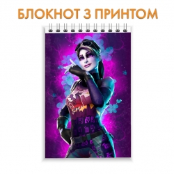 Блокнот Fortnite Girl Skin