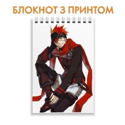 Блокнот D.Gray-man Bookman