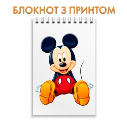 Notepad Disney Mickey Mouse