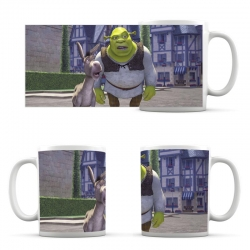 Cup Shrek and Donkey Friends