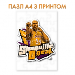 Shaquille O'Neal puzzle