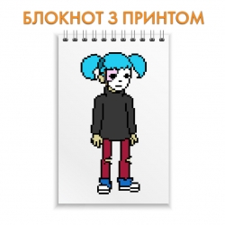 Блокнот Sally Face Pixel Edition