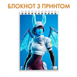 Блокнот Fortnite Evil Girl Skin