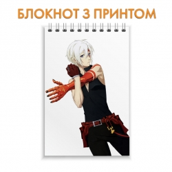 Блокнот D.Gray-man Allen Walker Hero