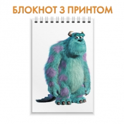 Блокнот Monsters Inc James P Sullivan