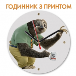 Часы Zootopia Flash