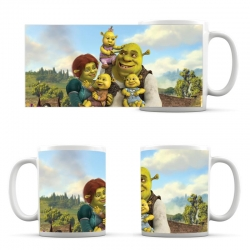cup Shrek, Fiona and children