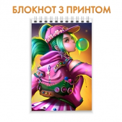 Блокнот Fortnite Skin Girl