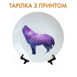 Тарелок Space in the wolf