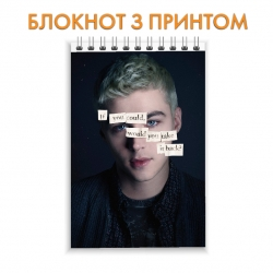 Notepad 13 Reasons Why Alex Hero
