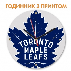 Часы Toronto Maple Leafs logo
