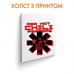 Холст Red Hot Chili Peppers 2