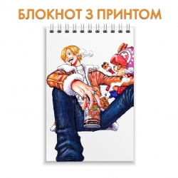 Блокнот One Piece Hero Boy