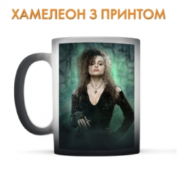 Чашка хамелеон Harry Potter Bellatrix Lestrange