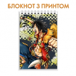 Блокнот One Piece Luffy Hero