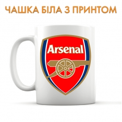 Чашка Arsenal logo