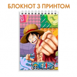 Блокнот One Piece Power Hero