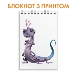 Блокнот Monsters Inc Monster