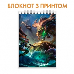 Блокнот League Of Legends Heroes