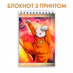 Блокнот One Piece Bear Hero