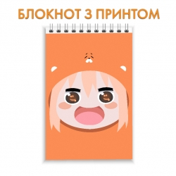 Блокнот My Two-Faced Little Sister Umaru Face