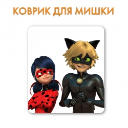 Килимок Miraculous Tales of Ladybug And Cat Noir