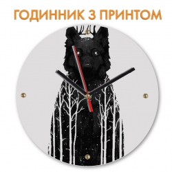 Часы Forest and wolf